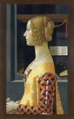 Portrait of Giovanna Tornabuoni, c.1489, Oil on Panel