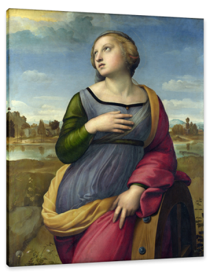 St. Catherine of Alexandria, c.1507, Oil on Poplar
