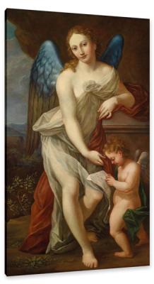 Venus and Cupid, c.1529, Oil on Canvas