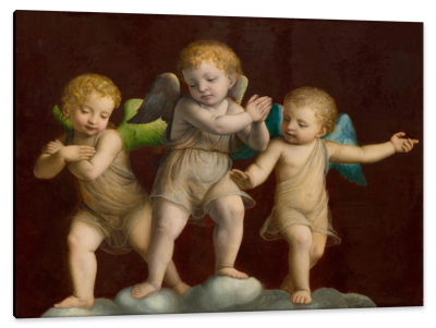 Three Putti, c.1524, Oil on Panel