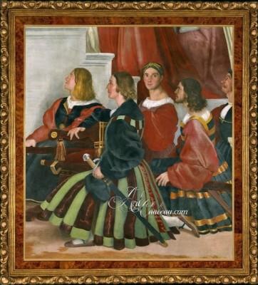 Renaissance Masterpiece by Raffaello Sanzio