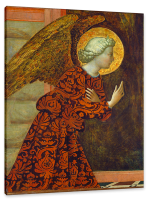 The Archangel Gabriel, c.1430, Tempera on Panel