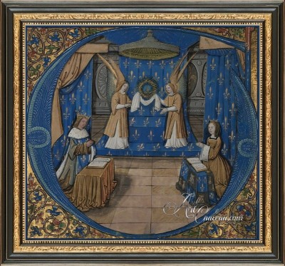 Classic Interior Design, Philippe of Guelders Painting
