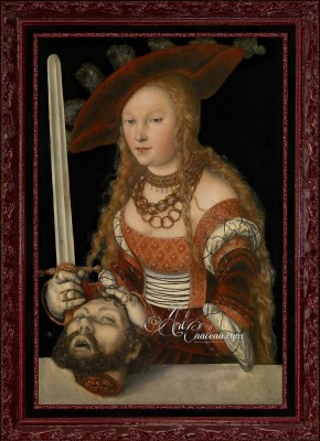 Judith with the Head of Holofernes, after Lucas Cranach