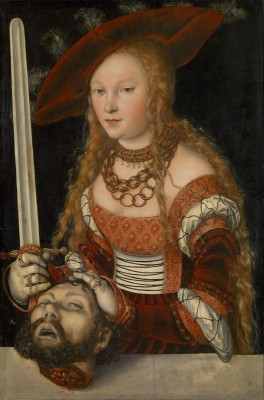 Judith with the Head of Holofernes, c.1530, Oil on Linden