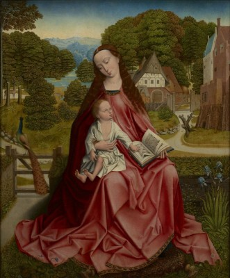 Virgin and Child in a Landscape, c.1492, Oil on Panel