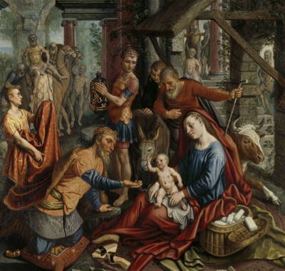 The Adoration of the Magi, c.1560, Oil on Panel