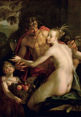 Bacchus, Ceres and Amor, c.1595, Oil on Canvas