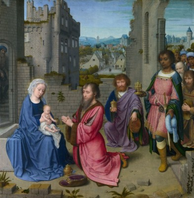 The Adoration of the Magi, c.1515, Oil on Oak