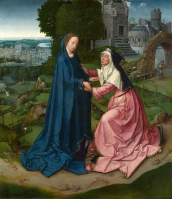 The Visitation of the Virgin to Saint Elizabeth, c.1507, Oil on Panel