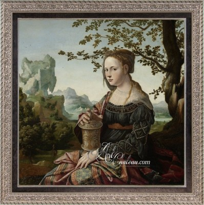 Mary Magdalene, after Painting by Jan van Scorel