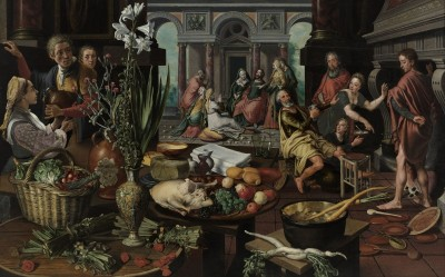 Christ in the House of Martha and Mary, c.1553, Oil on Panel
