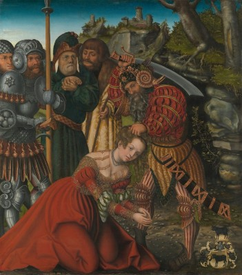 The Martyrdom of Saint Barbara, c.1510, Oil on Linden