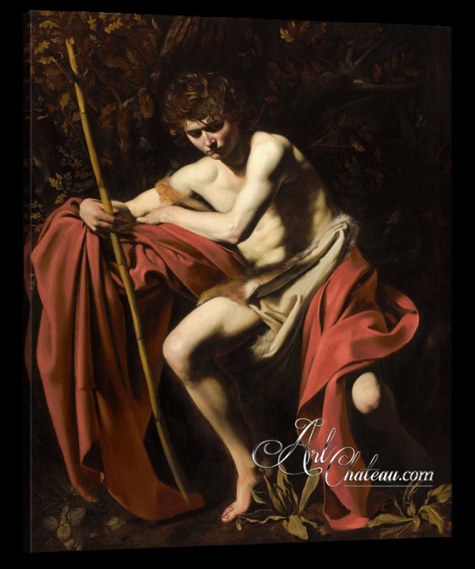 Italian Interior Design, Caravaggio Painting