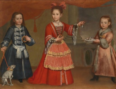 Three Children of Venetian Nobility, c.1710, Oil on Canvas