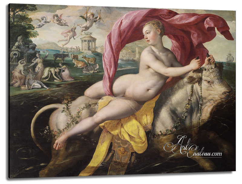 The Rape of Europa, after Painting by Marten de Vos