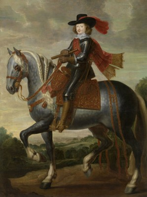 Equestrian portrait of Cardinal-Infante Ferdinand of Austria, c.1650, Oil on Canvas