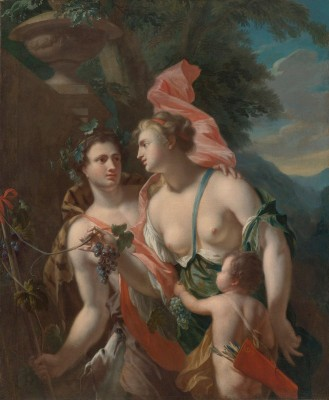 The Hague Venus and Bacchus, c.1730 Oil on Canvas