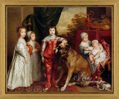 The Children of Charles I, after Anthony van Dyck