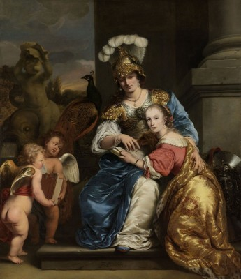 Margarita Trip as Minerva, Instructing her Sister Anna Maria Trip, c.1663, Oil on Canvas