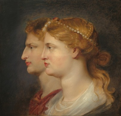 Agrippina and Germanicus, c.1614, Oil on Panel