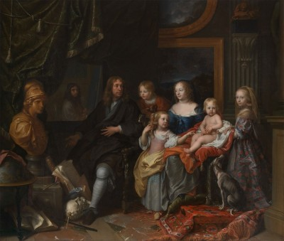 Everhard Jabach and His Family, c.1660, Oil on Canvas