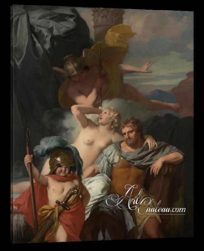 Classical Interiors, Gerard de Lairesse Painting