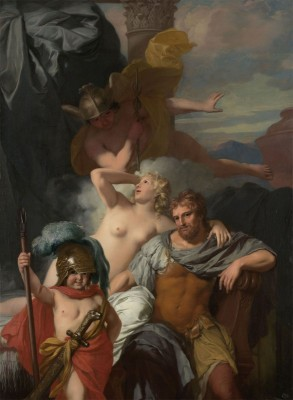 Odysseus and Calypso, c.1680, Oil on Canvas