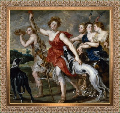 Classical Interior Design, Peter Paul Rubens Painting