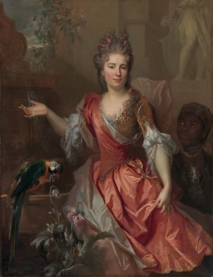 Madame Claude Lambert de Thorigny, c.1696, Oil on Canvas