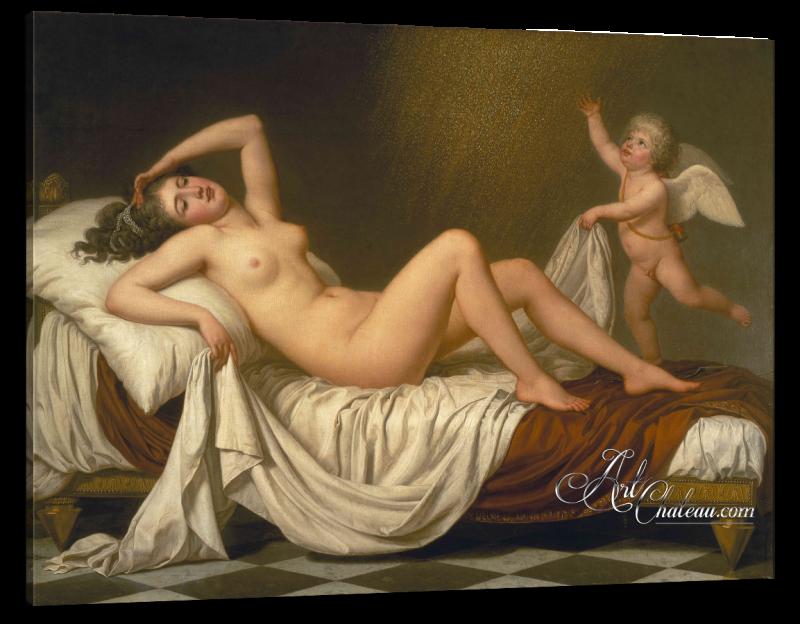 Classical Interior Design, Adolf Ulrik Wertmuller Painting