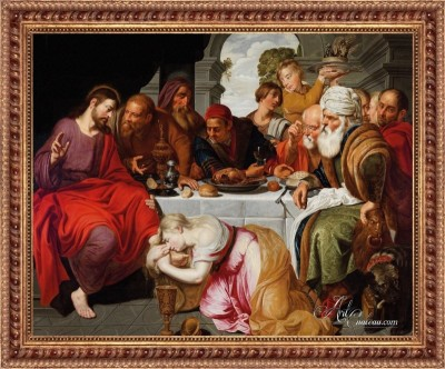 Banquet of the Pharisee, after Artus Wolfaerts