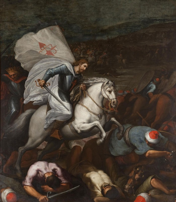 Santiago at the Battle of Clavijo, c.1605, Oil on Canvas