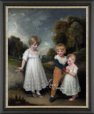 The Sackville Children, after Painting by John Hoppner