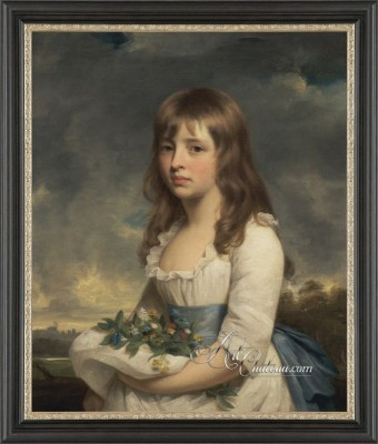 Neoclassical Painting, after William Beechey