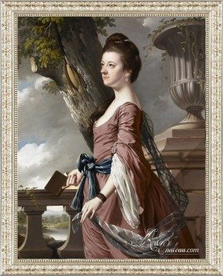 Mrs. Frances Hesketh, after Joseph Wright of Derby