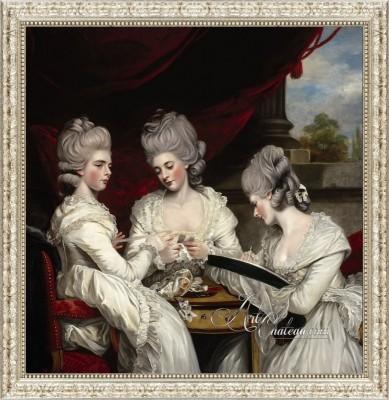 The Ladies Waldegrave, after Joshua Reynolds