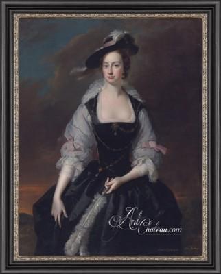 British Heritage Design painting, Lady Frances Courtenay