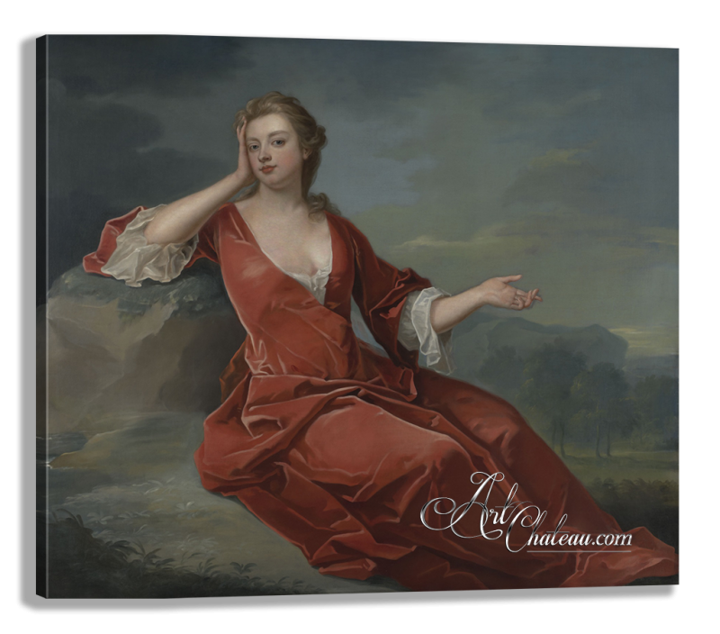 Sarah Churchill, after Painting by Charles Jervas
