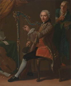 Cristiano Lidarti and Giovanni Battista Tempesti, c.1760, Oil on Canvas