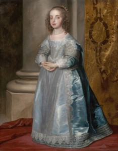 Princess Mary, Daughter of Charles I, c.1637, Oil on Canvas