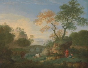 A Landscape with Classical Ruins, c.1752, Oil on Canvas