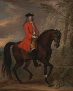 Portrait of a Man on Horseback, c.1720, Oil on Canvas