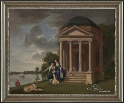 Temple to Shakespeare, after Johan Joseph Zoffany