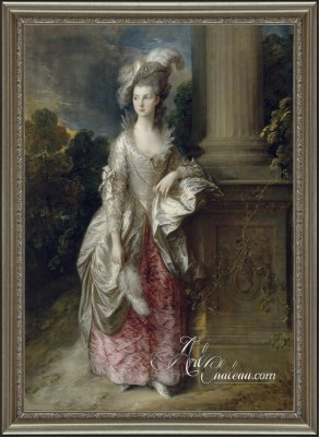 The Honourable Mrs. Graham, after Thomas Gainsborough