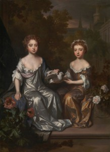 Portrait of Henrietta and Mary Hyde, c.1683, Oil on Canvas