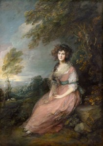 Portrait of Mrs. Richard Brinsley Sheridan, c.1785, Oil on Canvas