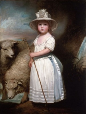 Shepherd Girl (Little Bo-Peep) c.1778, Oil on Canvas