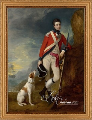 Officer of the 4th Regiment, after Thomas Gainsborough