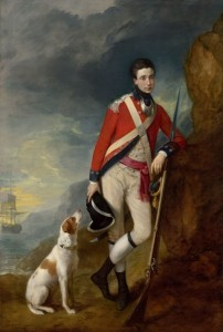 An Officer of the 4th Regiment of Foot, c.1780, Oil on Canvas